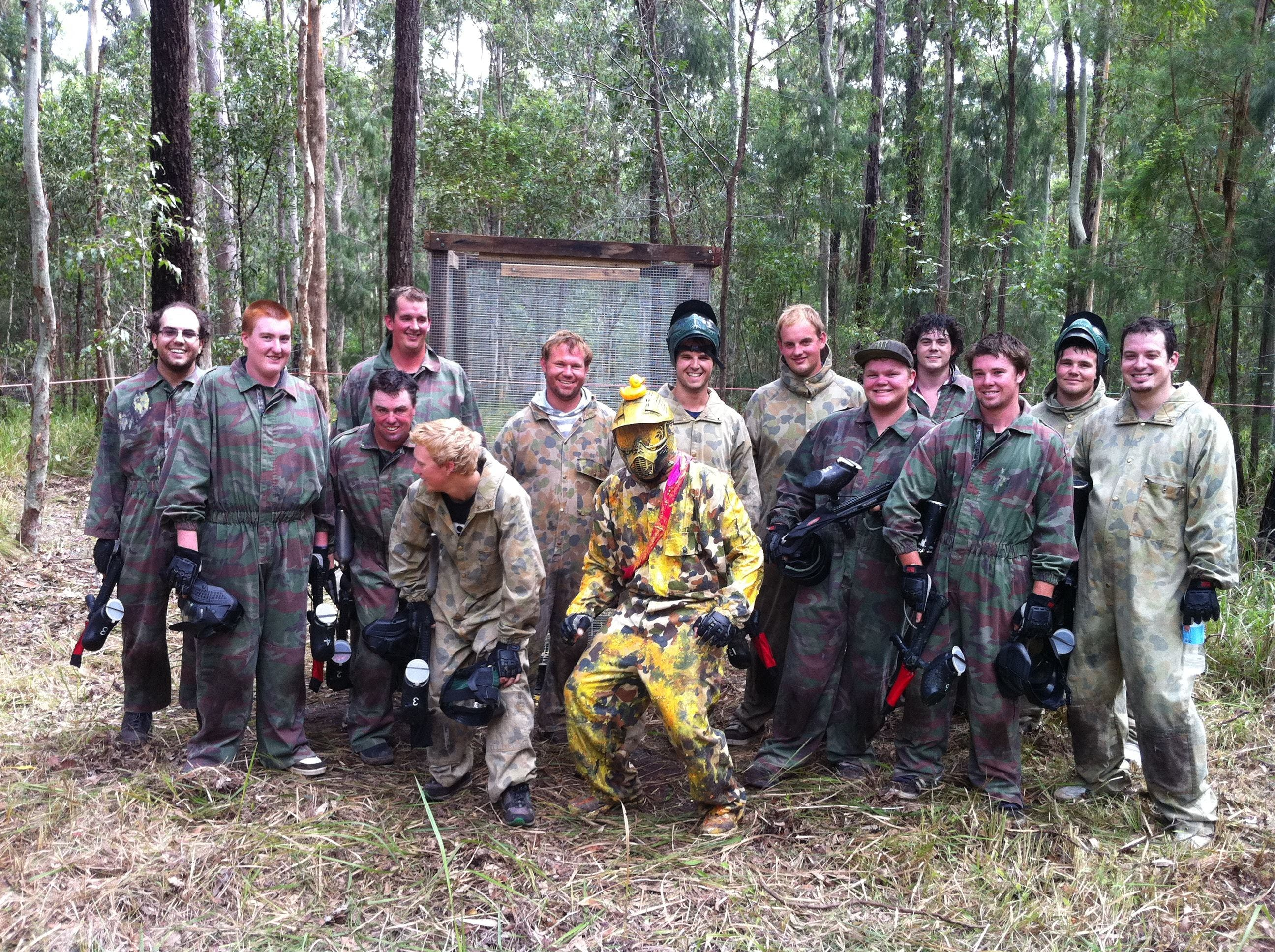 Mid North Coast Paintball - Tourism TAS
