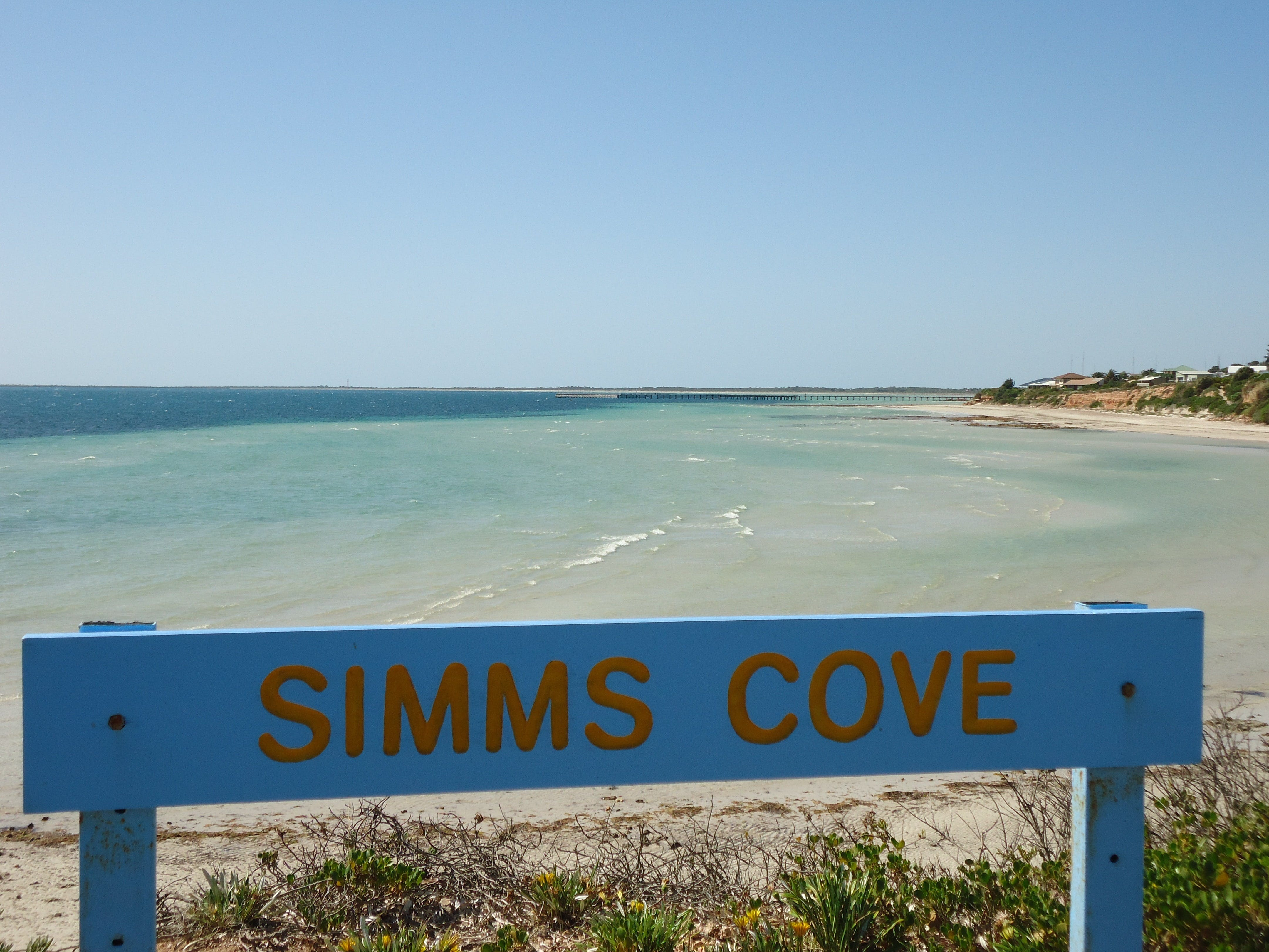 Simms Cove lookout and beach Moonta Bay - Tourism TAS