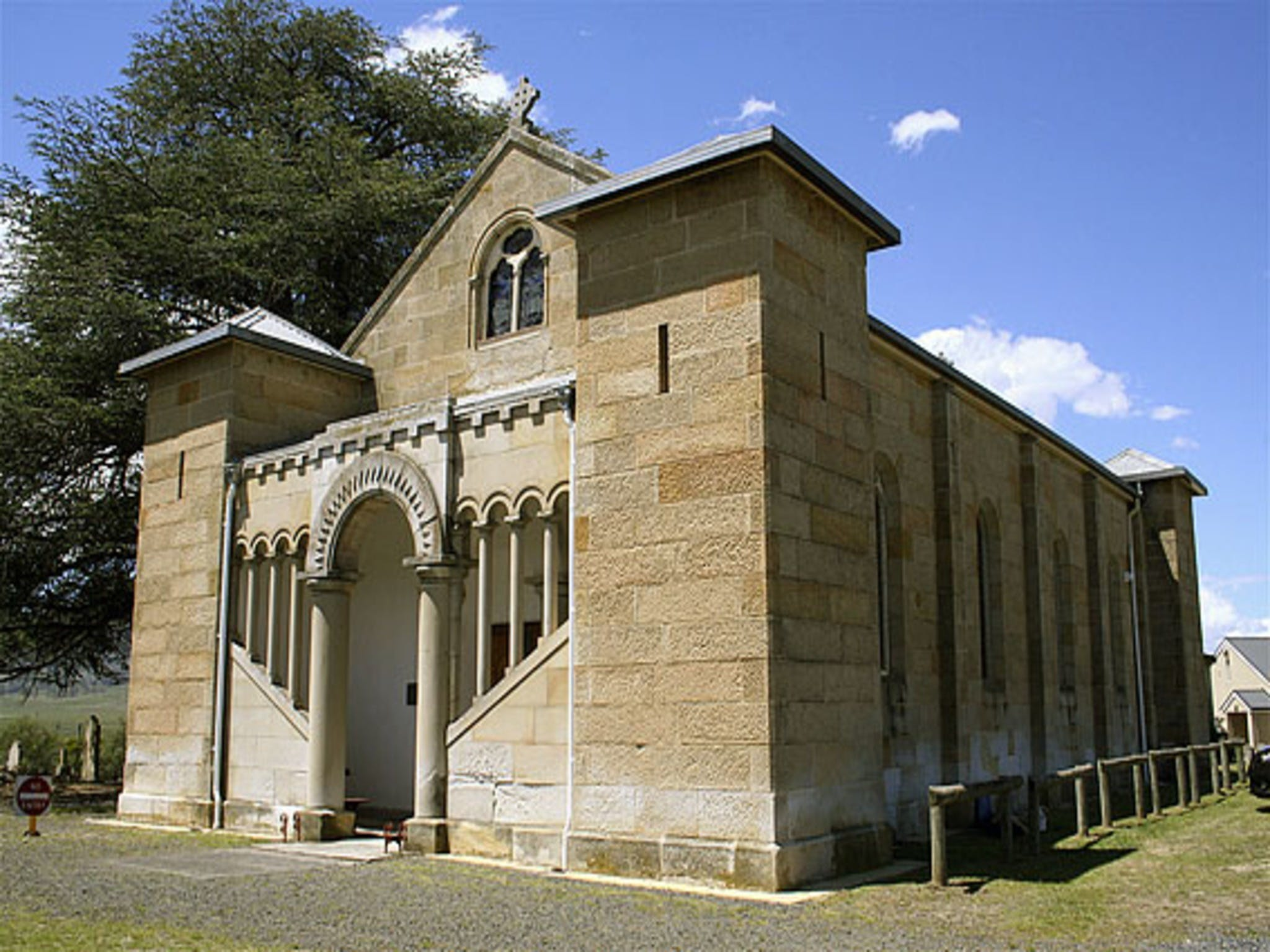 St Mark's Church Pontville - Tourism TAS