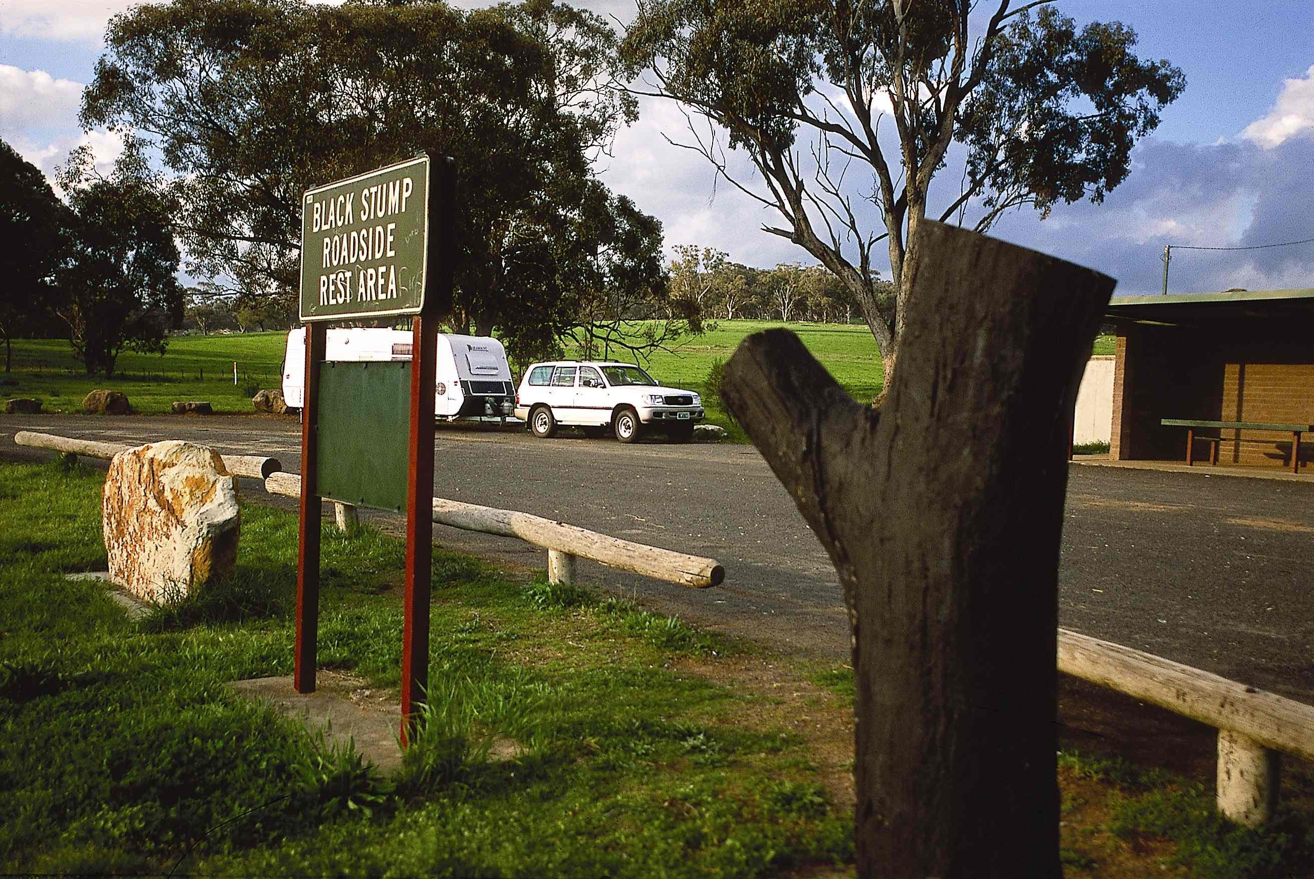 Black Stump Rest Area - Tourism TAS