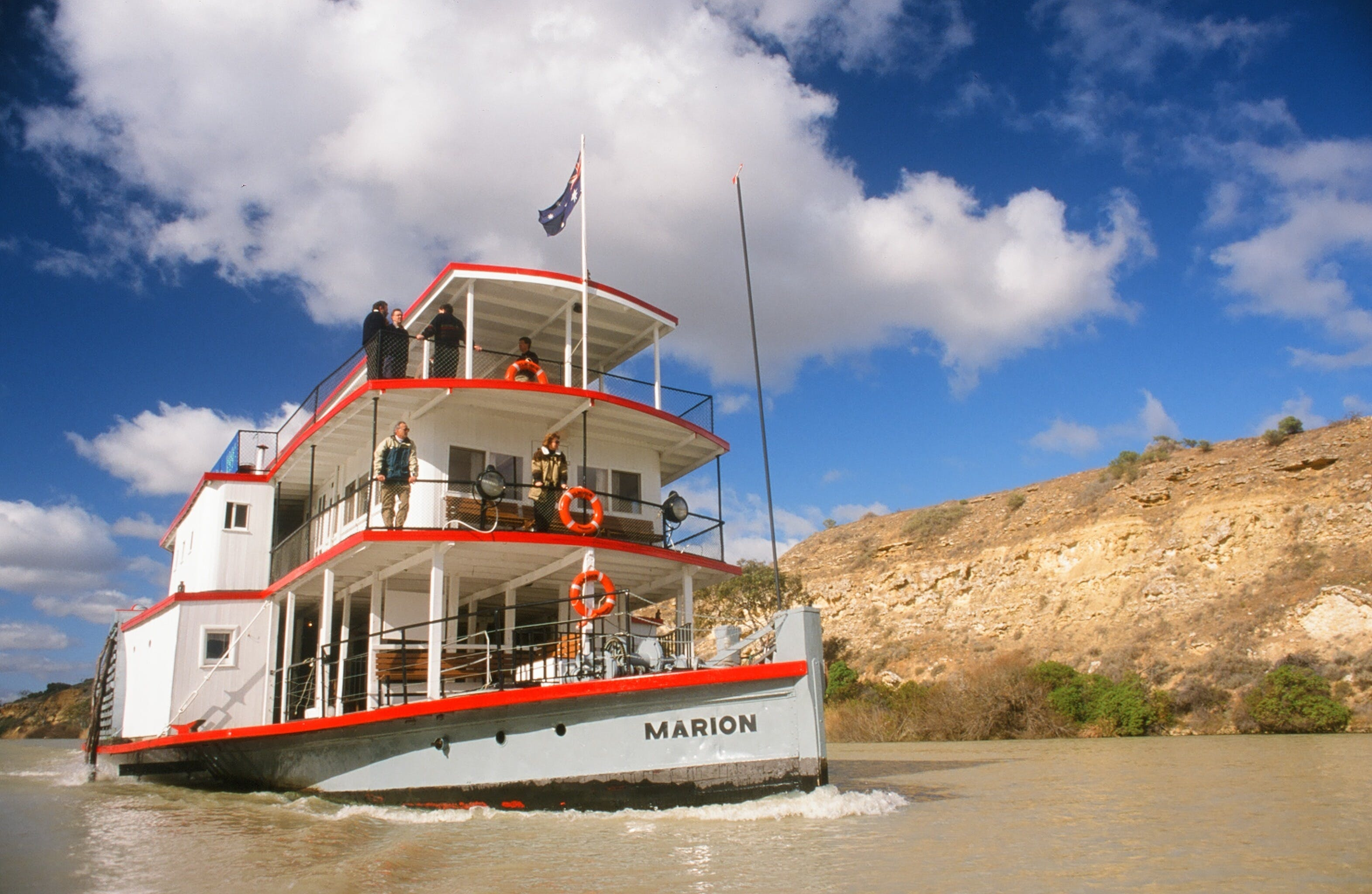 PS Marion Short Cruises - all cruises cancelled until further notice - Tourism TAS