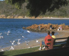 Emu Point - Tourism TAS