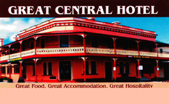 Great Central Hotel - Tourism TAS