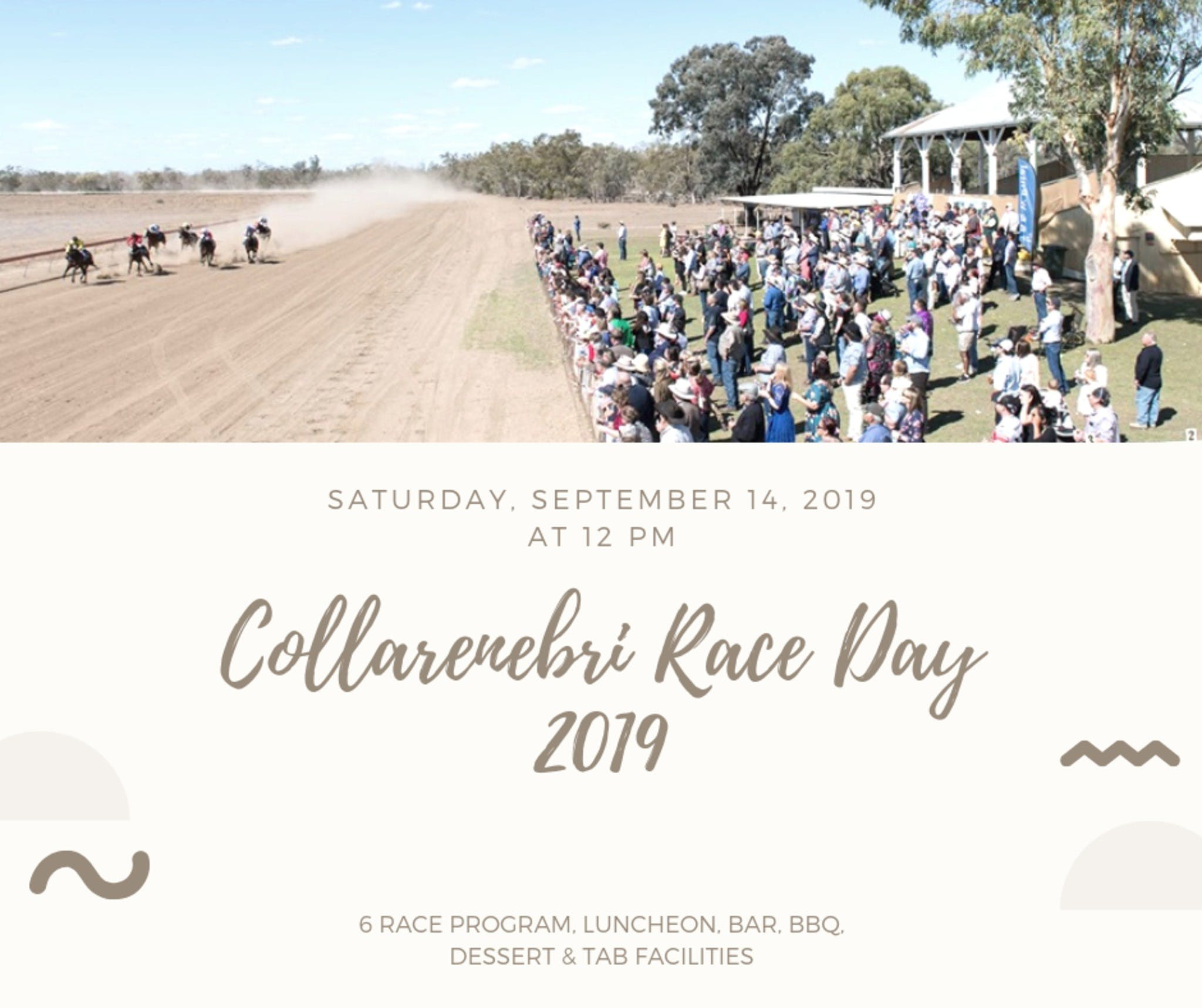 Collarenebri Races - Tourism TAS