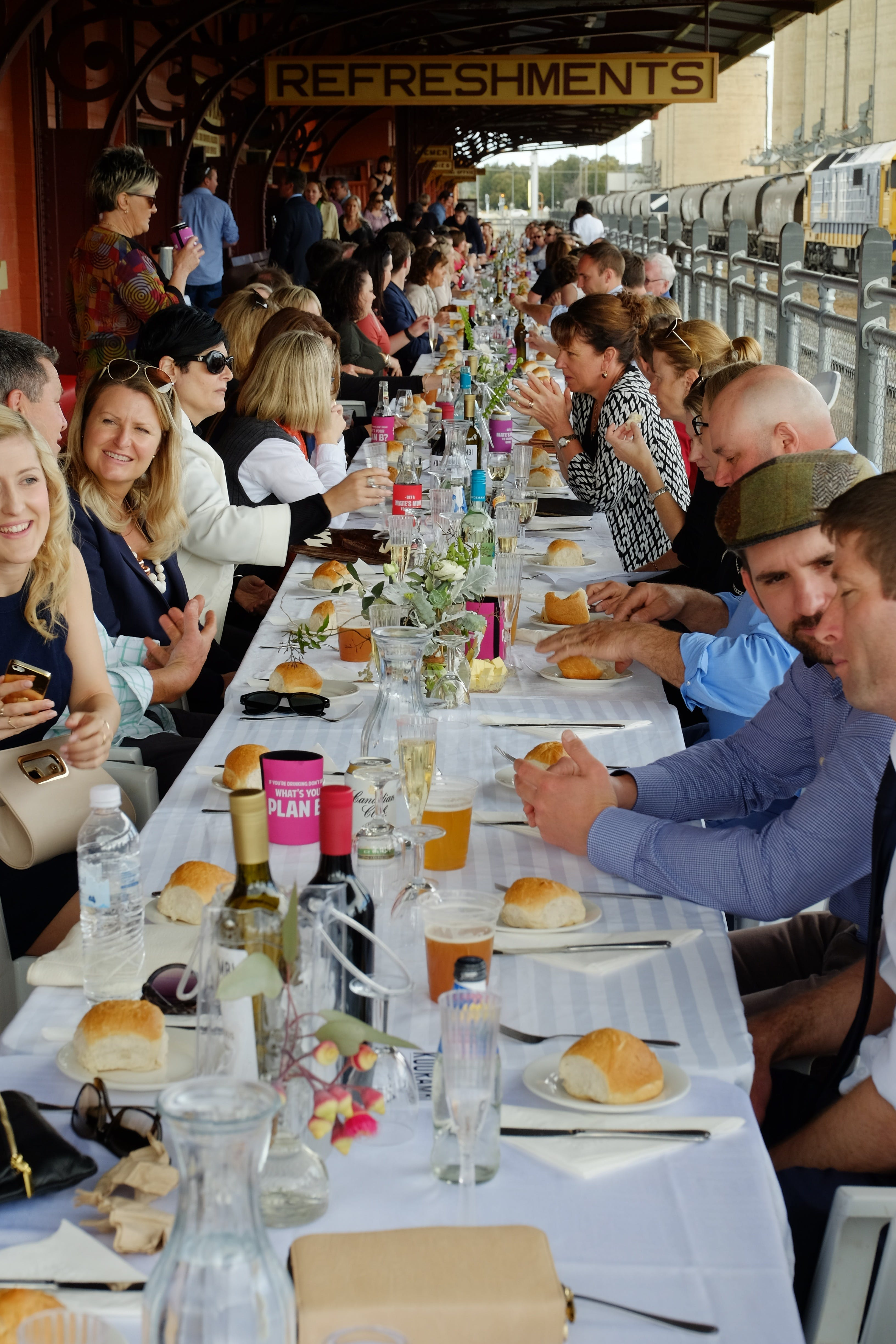 St Anne's Long Lunch - Tourism TAS