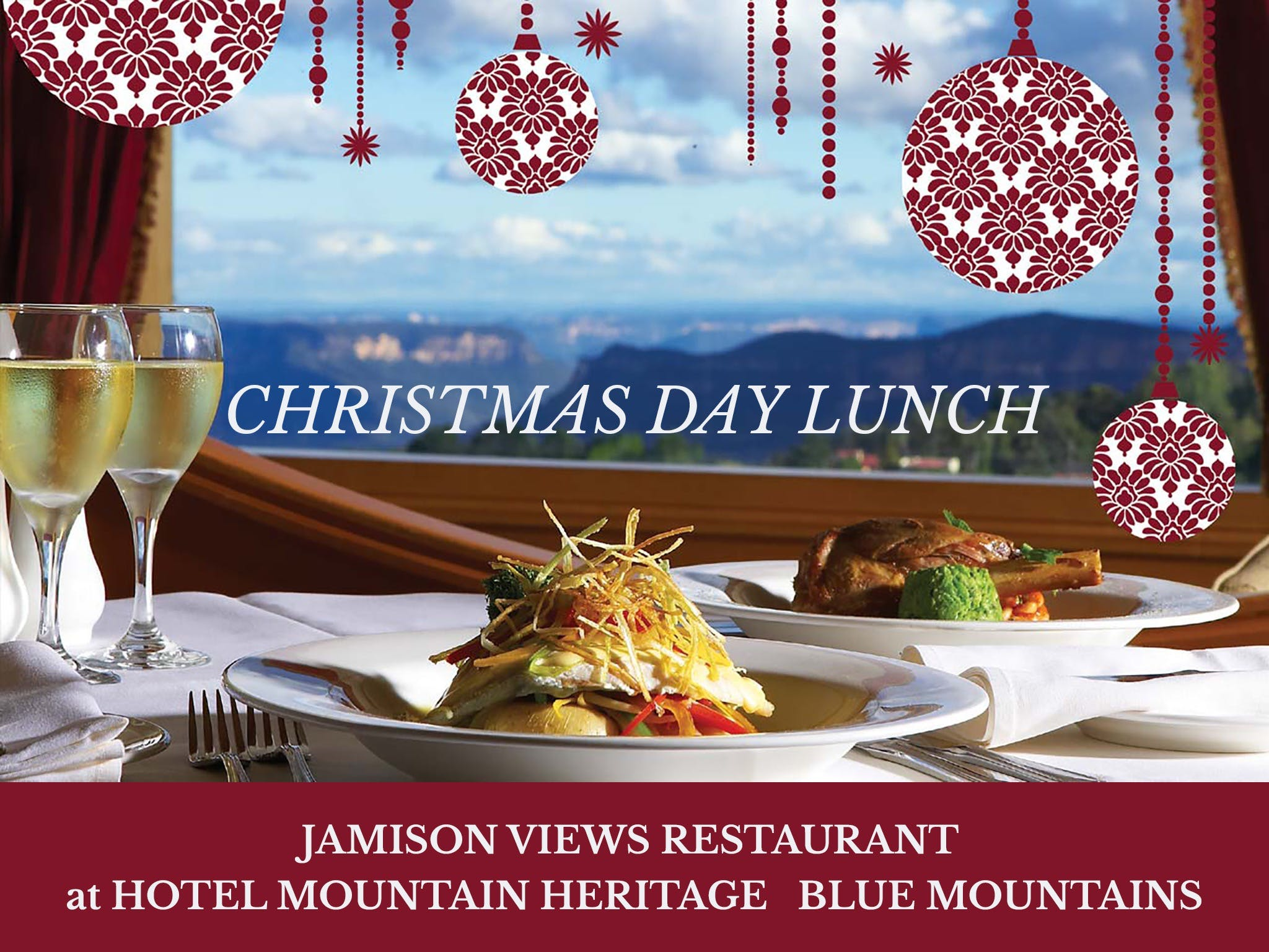 Christmas Day Lunch Hotel Mountain Heritage - Tourism TAS