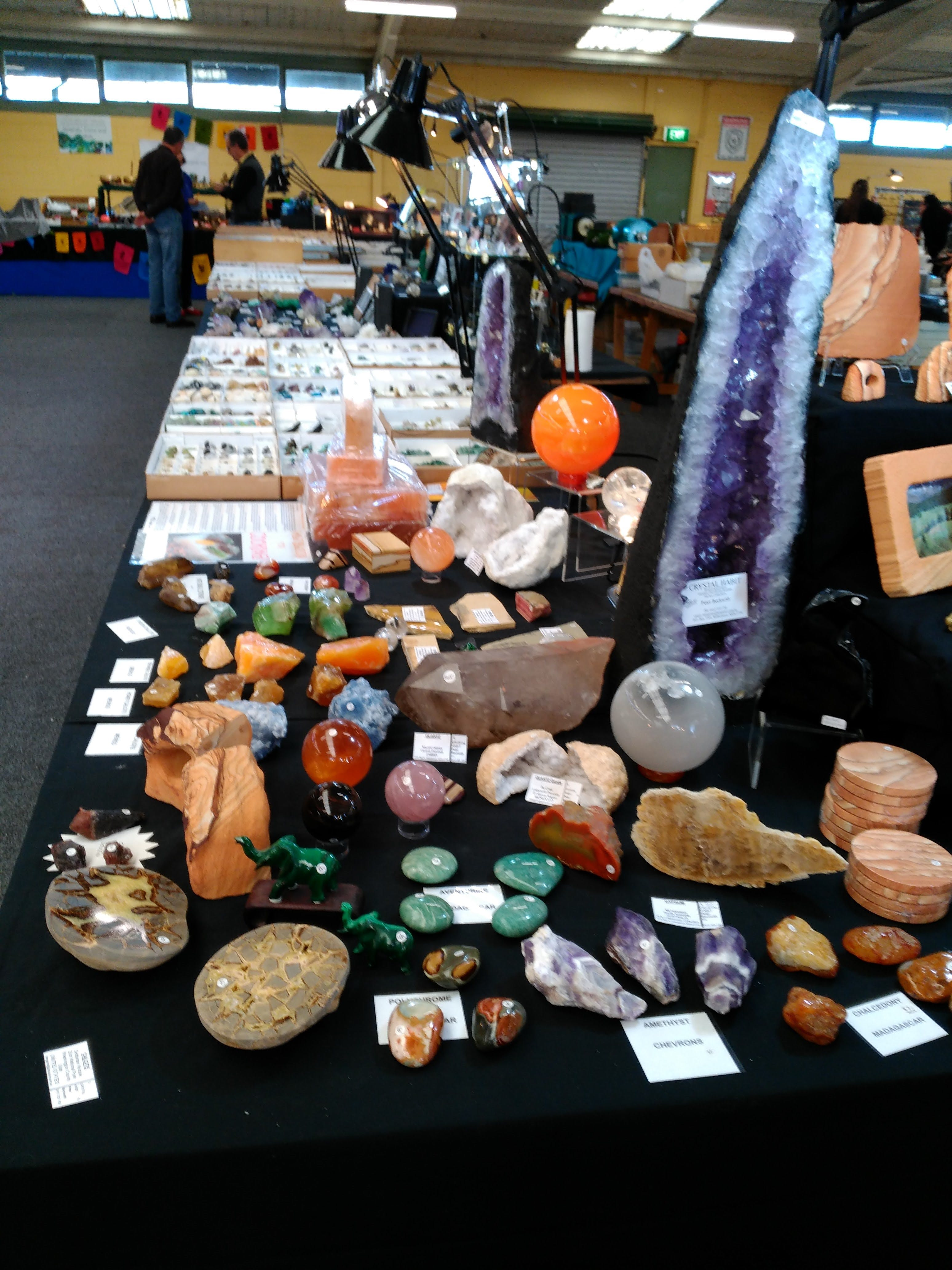 National Gem And Crystal Expo - Tourism TAS