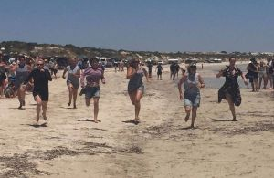 Perlubie Beach Sports Day - Tourism TAS