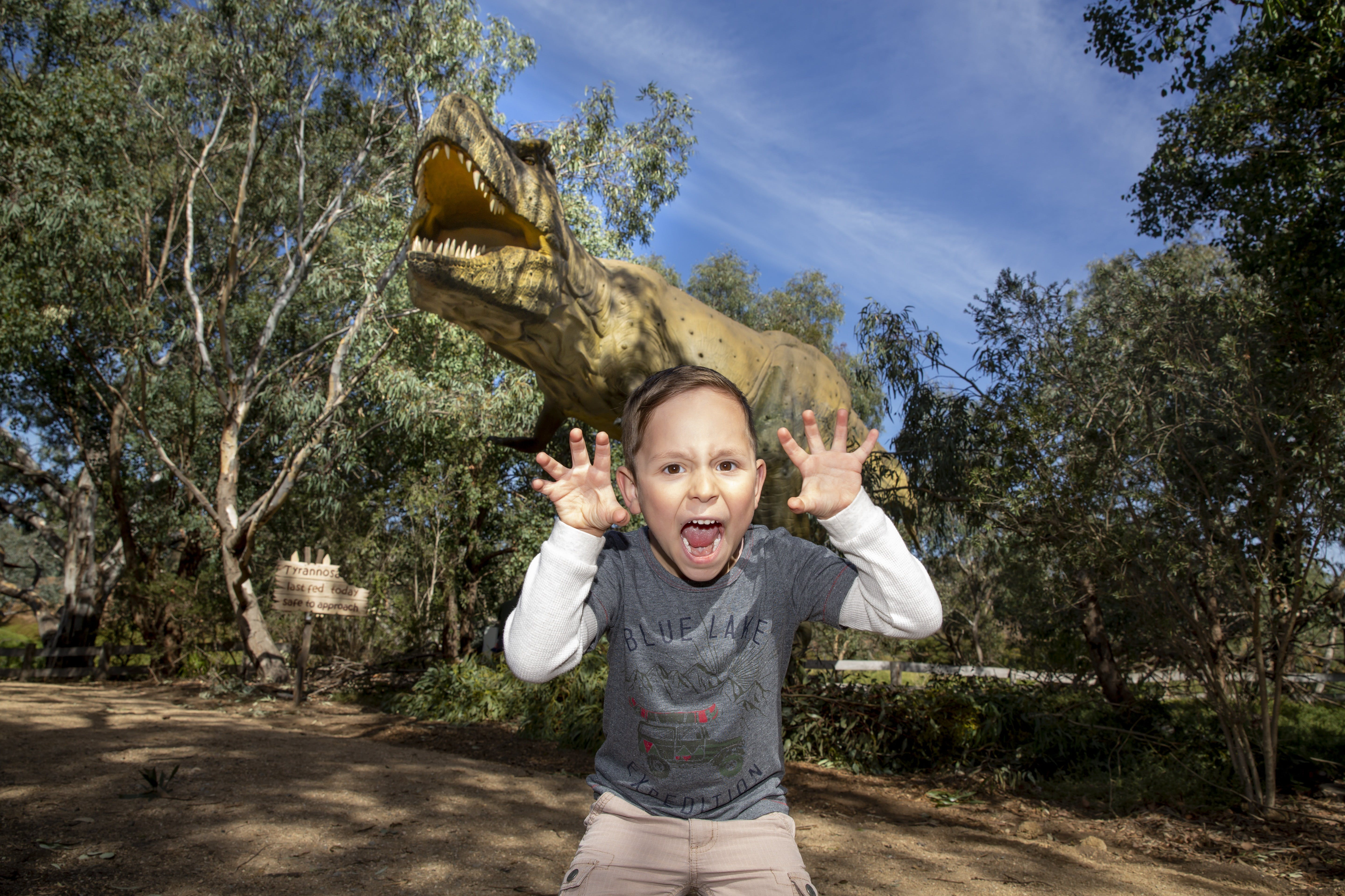 Zoorassic at Werribee Open Range Zoo. - Tourism TAS