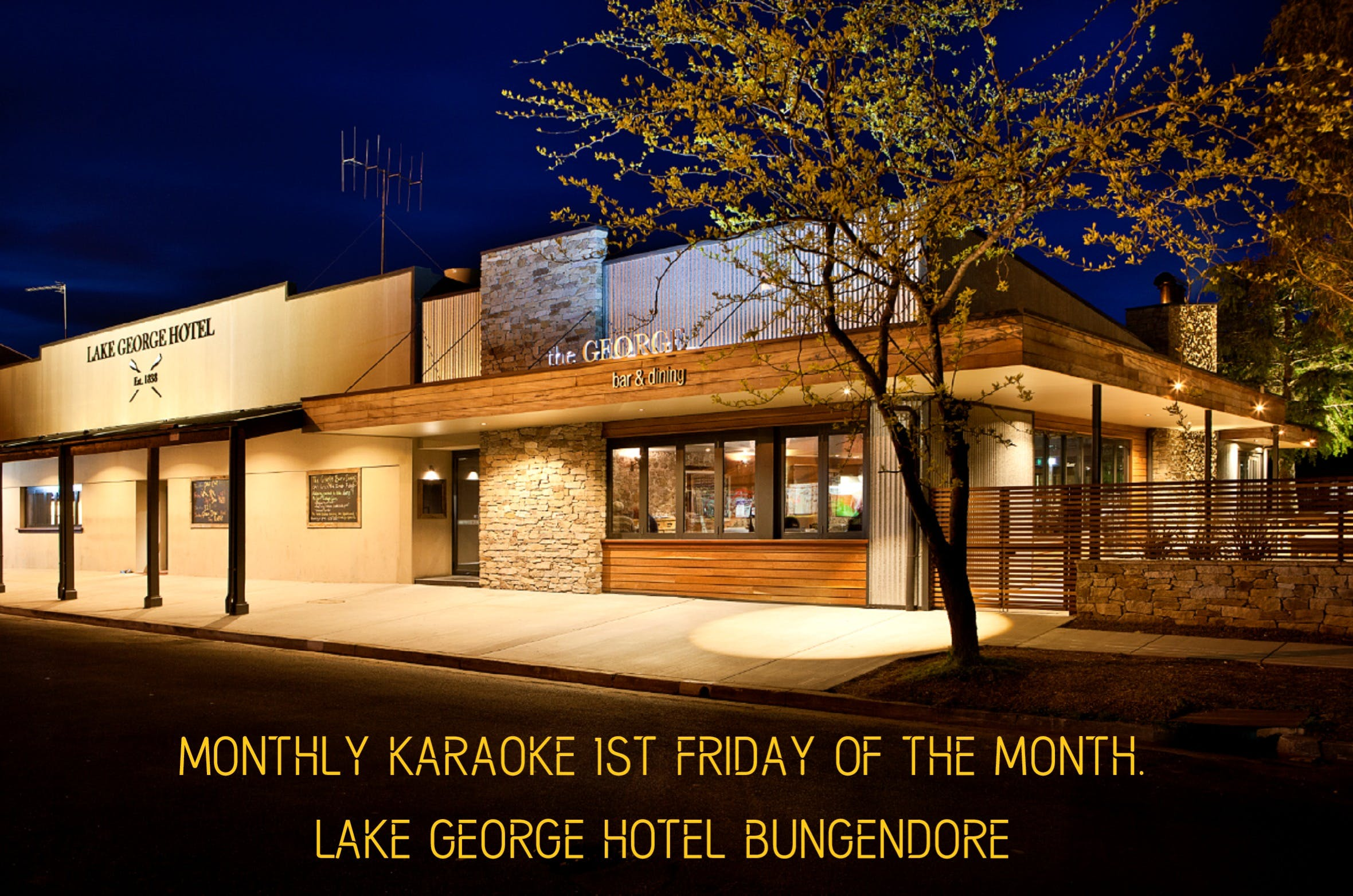 Monthly Karaoke - Tourism TAS