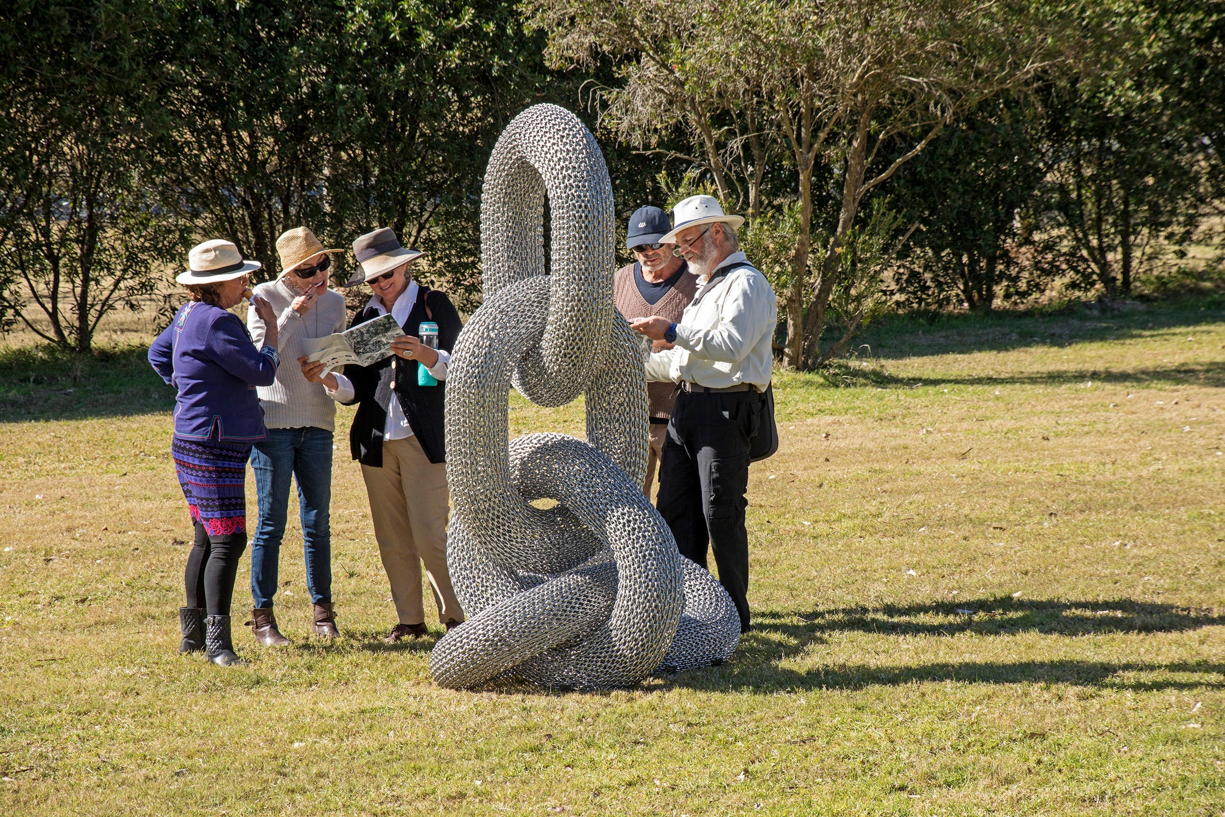 Sculpture for Clyde - Outdoor Exhibition - Tourism TAS