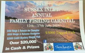 The Sussex Inlet Annual Family Fishing Carnival - Tourism TAS