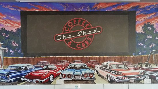The Shed Coffee And Cars - Tourism TAS