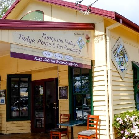 Kangaroo Valley Fudge House  Ice Creamery - Tourism TAS
